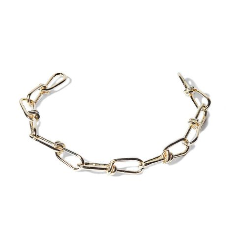 "<p>Annelise Michelson Wire Neckpiece, $547; <a href=""http://annelisemichelson-eshop.com/?product=tiny-wire-chokerr"">annelisemichelson-eshop.com</a></p>"