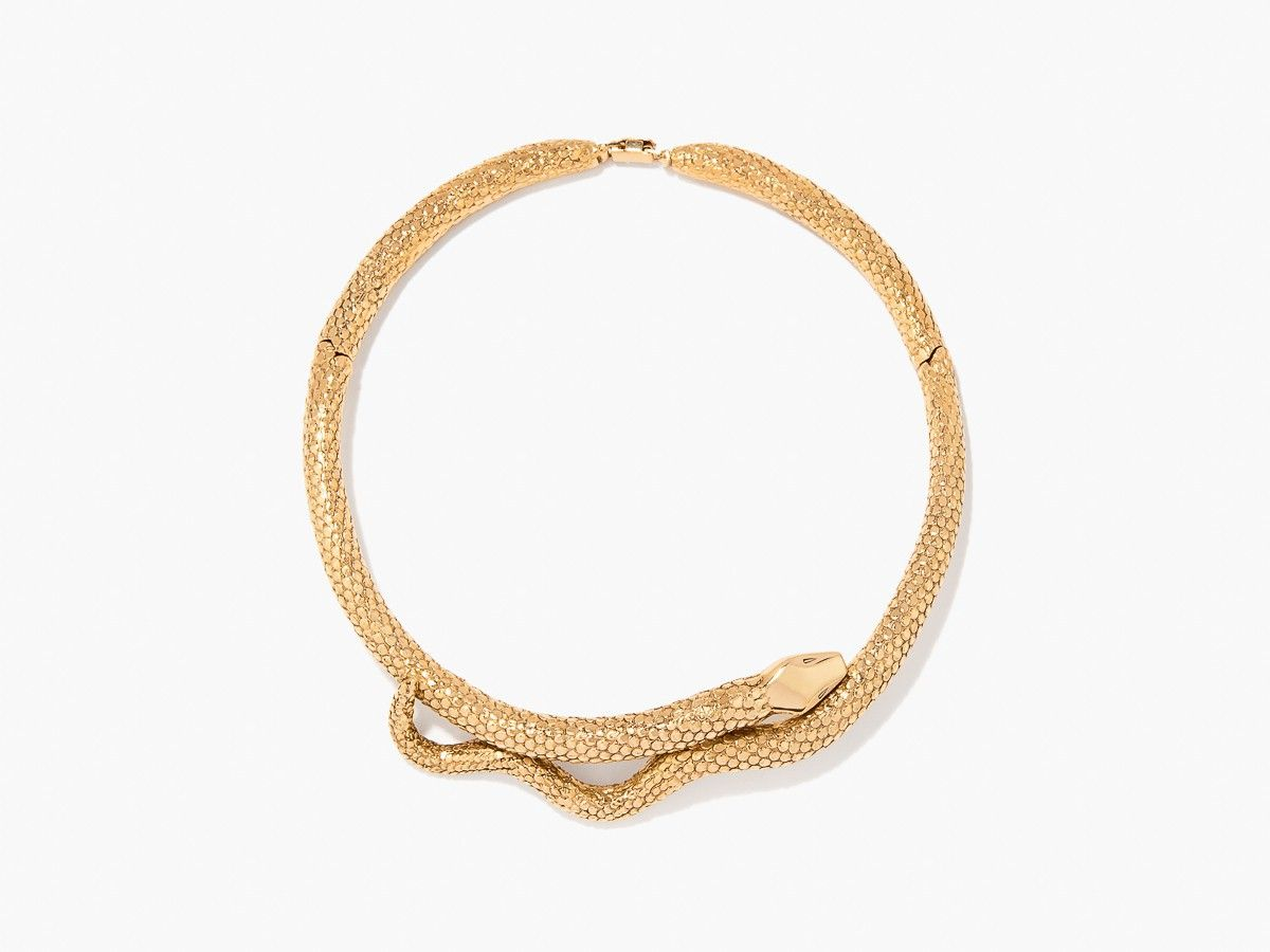 "<p>Aurélie Bidermann Tao Necklace, $1,028; <a href=""http://aureliebidermann.com/en/necklaces/135-tao-necklace.html#/78-material-gold_plated"">aureliebidermann.com</a></p>"