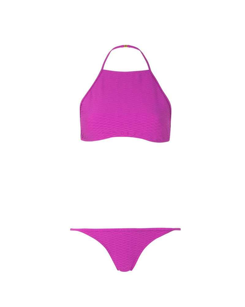 "<p>Topshop Textured High Neck Bikini, $52; <a href=""http://us.topshop.com/webapp/wcs/stores/servlet/ProductDisplay?searchTermScope=3&searchType=ALL&viewAllFlag=false&beginIndex=1&langId=-1&productId=19855603&pageSize=20&searchTerm=TS03E16HMAG&catalogId=33060&DM_PersistentCookieCreated=true&productIdentifierproduct=product&geoip=search&x=25&searchTermOperator=LIKE&sort_field=Relevance&y=11&storeId=13052&qubitRefinements=siteId%3DTopShopUS"">topshop.com</a></p>"