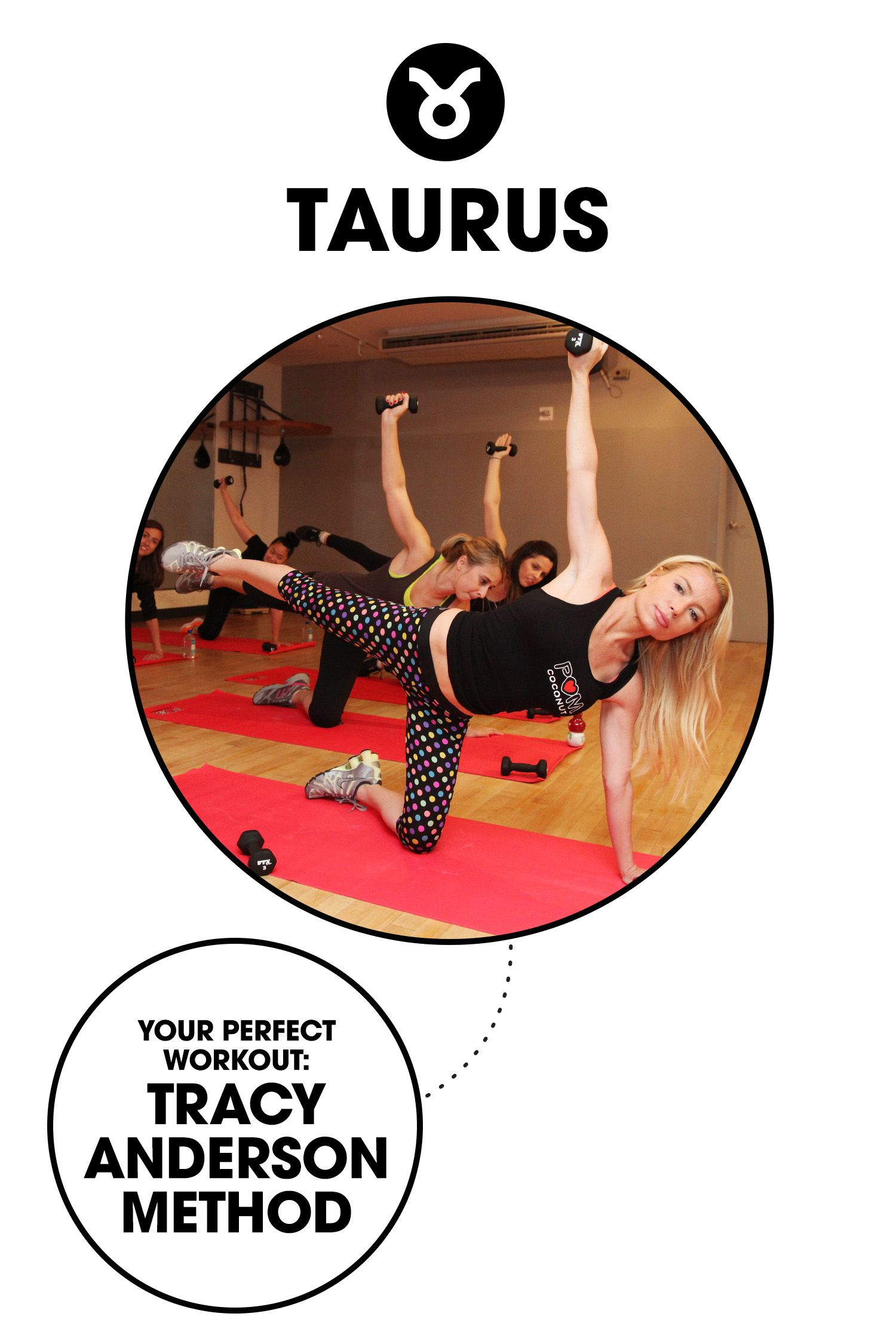 """<p><strong>What it is: </strong><a href=""""http://tracyanderson.com/"""">The body-whittling dance cardio workout</a> that svelte celebs like Gwyneth Paltrow and Jennifer Lopez swear by.</p><p><strong>Why you'll love it: </strong>You want a lifestyle, not a fad, and Anderson is about a well-rounded approach to wellness—no matter what your individual goals are.</p>"""