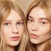 Lip, Cheek, Brown, Hairstyle, Skin, Chin, Eyebrow, Eyelash, Step cutting, Beauty,