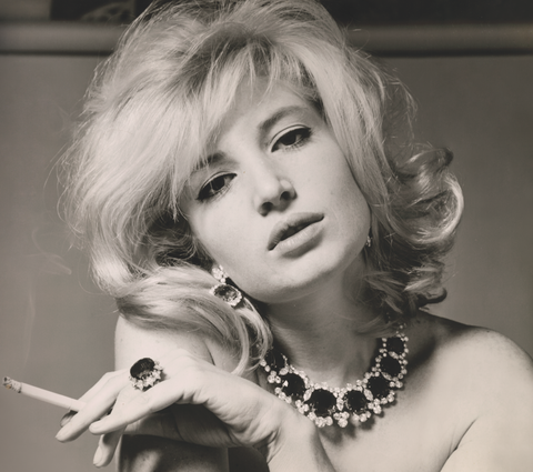 "<p><strong>Who:</strong> Actress Monica Vitti</p><p><strong>Known for: </strong>Vitti was most famous for her role in <em>L'Avventura</em>, a murder mystery directed by her lover Michelangelo Antonioni. In fact, she starred in many of his films, acting as his muse until the late '60s, when their working relationship became strained and their marriage ended. </p><p><strong>Get the look:</strong> Grab a bottle of peroxide and some liquid eyeliner and lock yourself in your bathroom, because tonight's all about achieving the perfect beauty look. Add a statement pair of glasses, like <a href=""http://www.bulgari.com/en-us/products/902675-e.html"">Bulgari's Intarsio opticals</a>, for extra oomph. </p>"