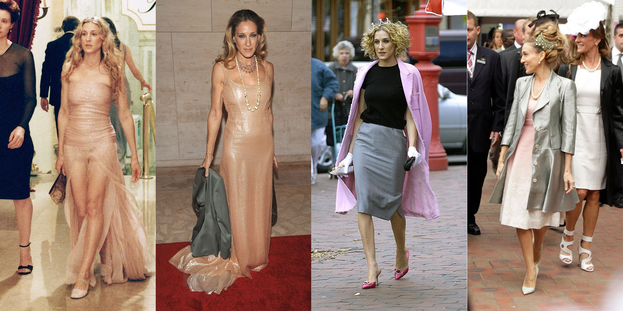 2647eb009 50 Times Sarah Jessica Parker Dressed Like Carrie Bradshaw in Real Life