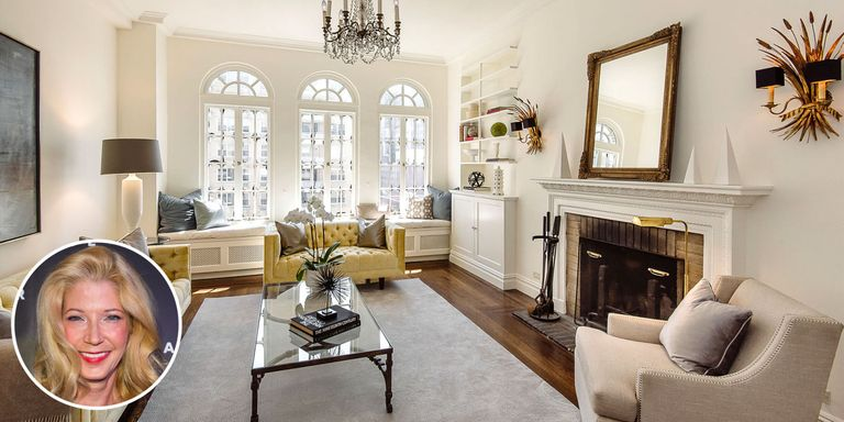 Candace bushnell 39 s nyc apartment inside the real life - Carrie bradshaw apartment layout ...