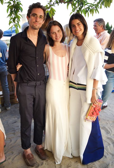 <p>Sean Avery and Hilary Rhoda Pop Up and Dinner for their Solid and Striped Collaboration on 8/8/2015</p>