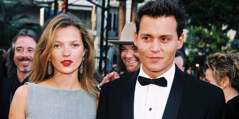 13 Rarely Seen Photos of Johnny Depp and Kate Moss