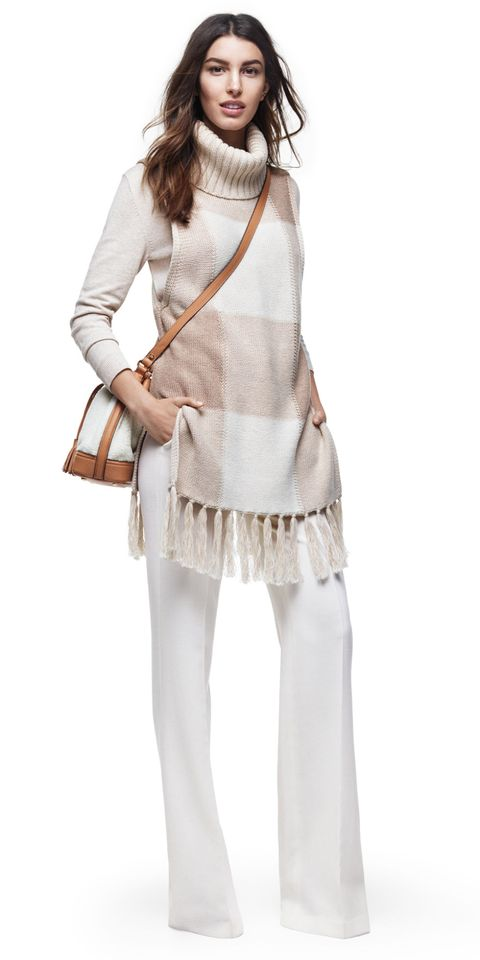Clothing, Brown, Product, Sleeve, Textile, Joint, Standing, White, Khaki, Bag,