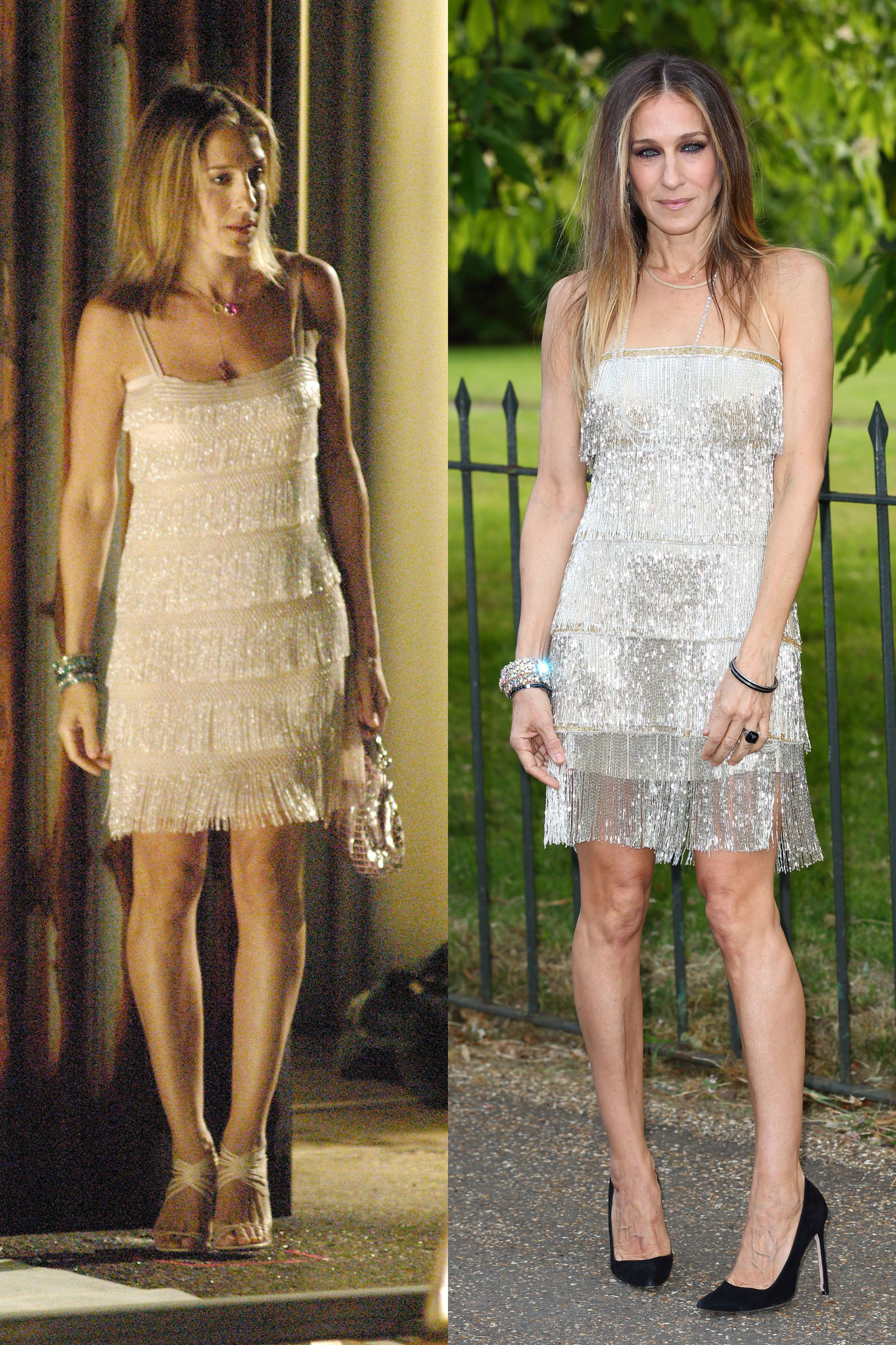 88ec206e7 50 Times Sarah Jessica Parker Dressed Like Carrie Bradshaw in Real Life - Sarah  Jessica Parker Style