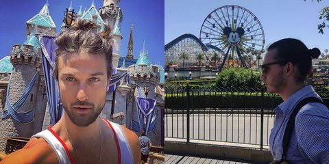 Facial hair, Ferris wheel, Tourism, Landmark, Temple, World, Chest, Iron, Majorelle blue, Beard,