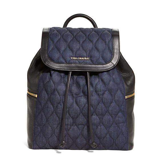 "<p>Vera Bradley Amy Backpack in Indigo Denim, $258; <a href=""http://www.verabradley.com/product/amy-backpack/indigo-denim/1003989_201708.uts?N=60000+4294965428"">verabradley.com</a></p>"