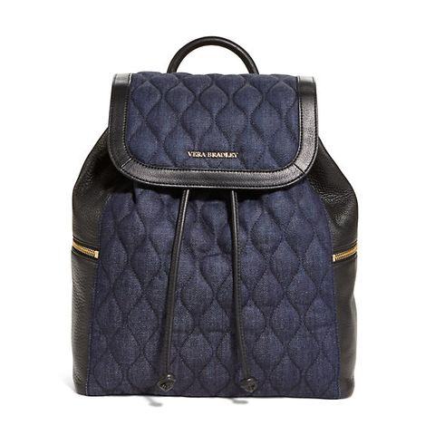 "<p>Vera Bradley Amy Backpack in Indigo Denim, $258; <a href=""http://www.verabradley.com/product/amy-backpack/indigo-denim/1003989_201708.uts?N=60000+4294965428"">verabradley.com</a></p>"