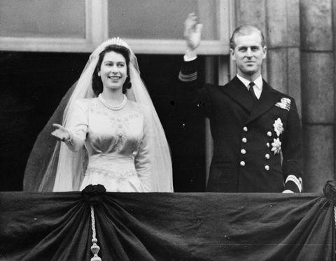 Queen Elizabeth and Prince Philip royal wedding