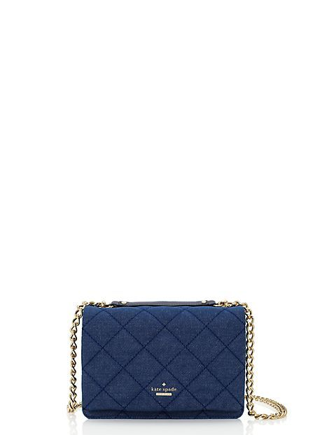 "<p>Kate Spade Emerson Place Quilted Denim Vivenna, $358; <a href=""https://www.katespade.com/emerson-place-quilted-denim-vivenna/098689860756,en_US,pd.html?source=CAPLA_DF:098689860756:KSP&KPID=098689860756&cm_mmc=PLAs-_-All-_-All-_-All&utm_source=pla&utm_medium=cpc&utm_campaign=pla&pla=pla_098689860756&mr:referralID=b5453953-4507-11e5-9ef7-005056941669"">katespade.com</a></p>"