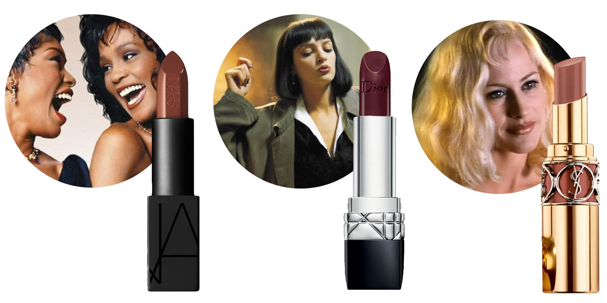 7 Brown Lipstick Looks From Your Favorite 90s Movies