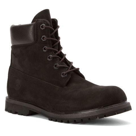 "<p>Women's 6-Inch Premium Boot, $160; <a href=""http://www.timberland.com/shop/womens-footwear/womens-6-inch-premium-waterproof-boots-8658a001"">timberland.com</a> </p>"