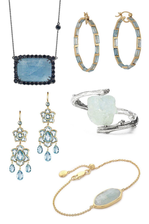 "<p>Meredith Marks Anika Necklace, $985&#x3B; <a href=""https://www.wolfandbadger.com/us/anika-necklace/?utm_source=polyvoreUS&utm_medium=cpc&utm_campaign=polyvore-necklaces"">wolfandbadger.com</a></p><p class=""MsoNormal"">Nak Armstrong Gemstone oops, $3,520&#x3B; <a href=""http://www.barneys.com/nak-armstrong-gemstone-hoops-504138853.html#q=aquamarine&start=8http://www.barneys.com/nak-armstrong-gemstone-hoops-504138853.html"">barneys.com</a></p><p class=""MsoNormal"">Munni Lotus Drop Earrings, $21,000&#x3B; <a href=""http://www.barneys.com/munnu-lotus-drop-earrings-503960754.html#q=aquamarine&start=9"">barneys.com</a></p><p class=""MsoNormal"">Nancy Nelson Aquamarine Branch Ring, $70&#x3B; <a href=""http://www.uncommongoods.com/product/aquamarine-branch-ring?utm_medium=affiliates"">uncommongoods.com</a></p><p class=""MsoNormal"">Monica Vinader Capri Chain Bracelet, $275&#x3B; <a href=""https://www.shopbop.com/capri-chain-bracelet-monica-vinader/vp/v=1/1500719609.htm?folderID=2534374302024641&os=false&colorId=13041&extid=affprg_CJ_SB_US-2178999-ShopStyle.com&cvosrc=affiliate.cj.2178999"">shopbop.com</a></p>"