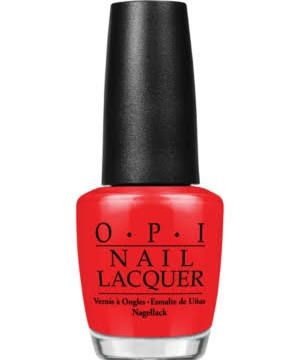 """<p>Who doesn't love these shiny, chip-resistant lacquers? Makeup artist Charlotte Tilbury tells us, """"Big Apple Red [below, top] is instant glamour."""" More ELLE faves: Tickle My France-y (center) and Alpine Snow (bottom).</p><p>OPI Nail Lacquer, Big Apple Red, $10; <a href=""""http://www1.macys.com/shop/product/opi-nail-lacquer-big-apple-red?ID=1637157&pla_country=US&CAGPSPN=pla&CAWELAID=120156340001014308&catargetid=120156340003018127&cadevice=c&cm_mmc=Google_Beauty_PLA-_-Beauty_All+Products_GS_All+Products-_-66838451786_-_-_mkwid_ECbTSWA5