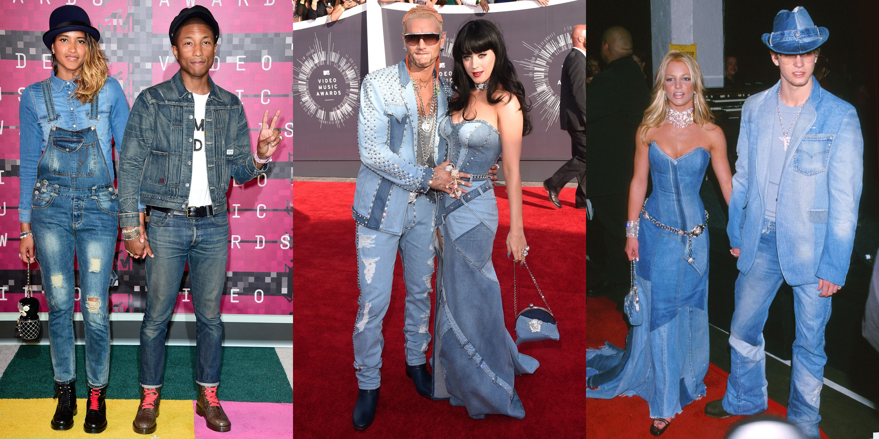 Couples Denim On Denim Is Officially A Red Carpet Trend