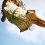 Human leg, Elbow, Joint, People in nature, Summer, Wrist, Sunlight, Waist, Knee, Trunk,