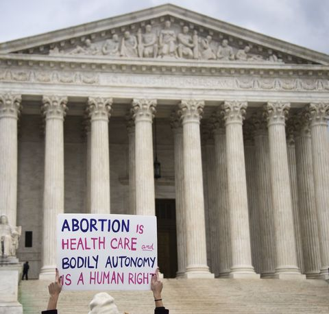 Activists believe that abortion is a choice between a woman and her doctor.