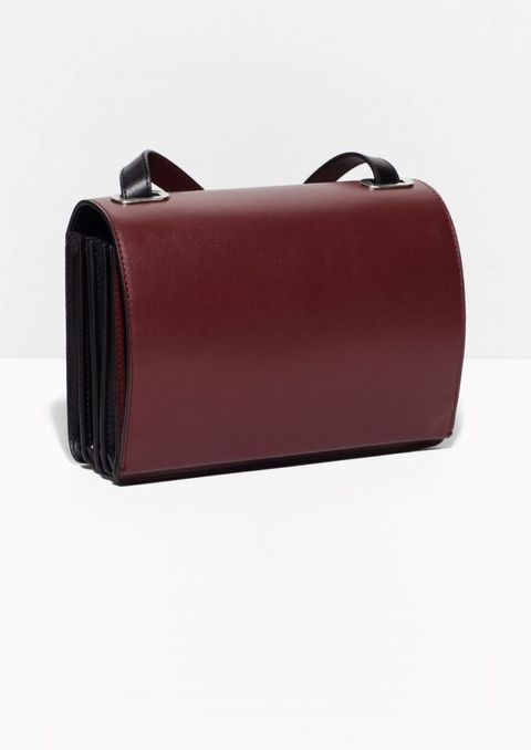 "<p>& Other Stories Pleated Shoulder Bag, $195; <a href=""http://www.stories.com/us/Isabelle_Boiss_favourites/Pleated_Shoulder_Bag/5342347-100569564.1"">stories.com</a></p>"