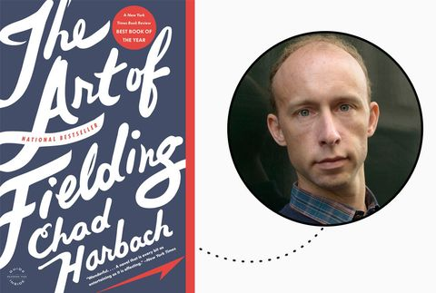 <p>I will always recommend <em>The Art of Fielding</em> to those who haven't yet enjoyed it. It may look hulking, but once you are swirled up in the ennui-tinged, collegiate world of Chad Harbach's tightly-drawn characters, you'll find yourself wishing it was an anthology. Such a perfect Labor Day indulgence. - <em>Justine Harman, Senior Entertainment Editor, Elle.com</em></p>