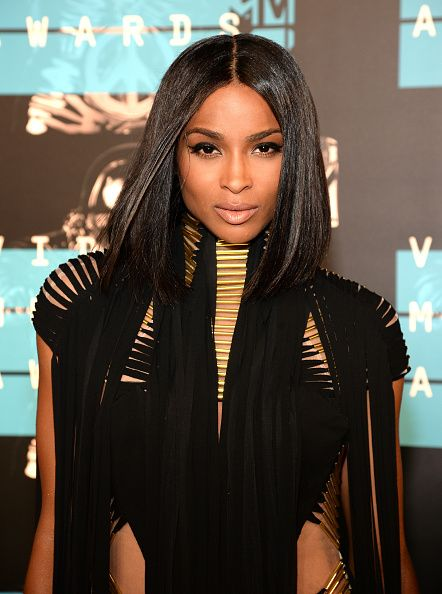 """<p>Ciara shows off super-shiny shorter hair. <a href=""""http://nypost.com/2015/08/17/ciara-russell-wilson-hanging-in-there-on-celibacy/"""">Celibacy</a> suits her.</p>"""