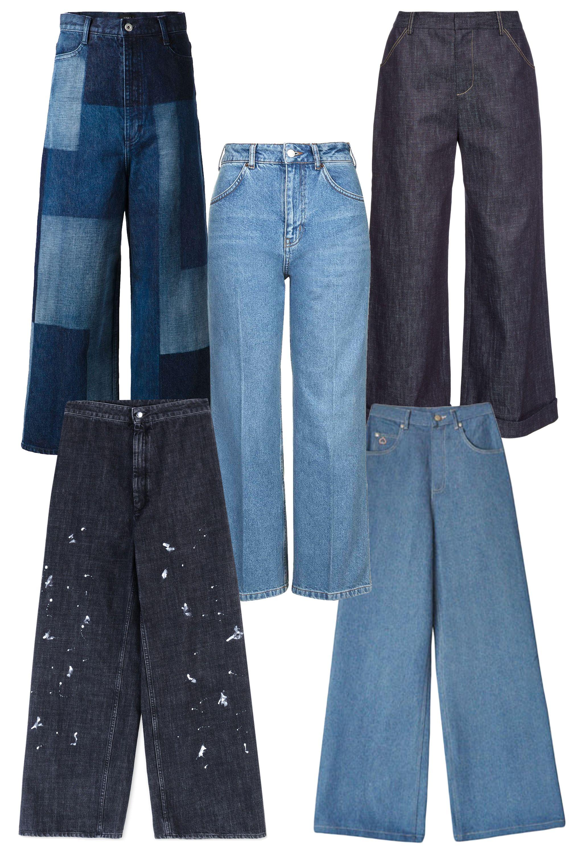 "<p>G.V.G.V. Patchwork Wide Leg Cropped Jeans, $639; <a href=""http://www.farfetch.com/shopping/item10976735.aspx?utm_source=skimlinks&utm_medium=referral&utm_campaign=affiliate%20tool%20us"">farfetch.com</a></p><p class=""MsoNormal"">Topshop MOTO Wide Leg Cropped Jeans, $75; <a href=""http://us.topshop.com/en/tsus/product/clothing-70483/jeans-4593087/moto-wide-cropped-jeans-4532330?bi=0&ps=200"">topshop.com</a><o:p></o:p></p><p class=""MsoNormal"">Derek Lam Wide-Leg Denim, $640; <a href=""http://www.matchesfashion.com/us/products/Derek-Lam-Wide-leg-denim-culottes-1020268"">matchesfashion.com</a><o:p></o:p></p><p class=""MsoNormal"" style=""text-align:justify"">MM6 by Maison Margiela Denim Pants, $350; <a href=""http://www.thecorner.com/us/women/denim-pants_cod42433385xc.html"">thecorner.com</a></p><p class=""MsoNormal"" style=""text-align:justify""><o:p></o:p></p><p class=""MsoNormal"">Samantha Pleet Ultra Denim Port Jeans, $216; <a href=""http://www.bonadrag.com/index.php?l=product_detail&p=5084"">bonadrag.com</a></p>"