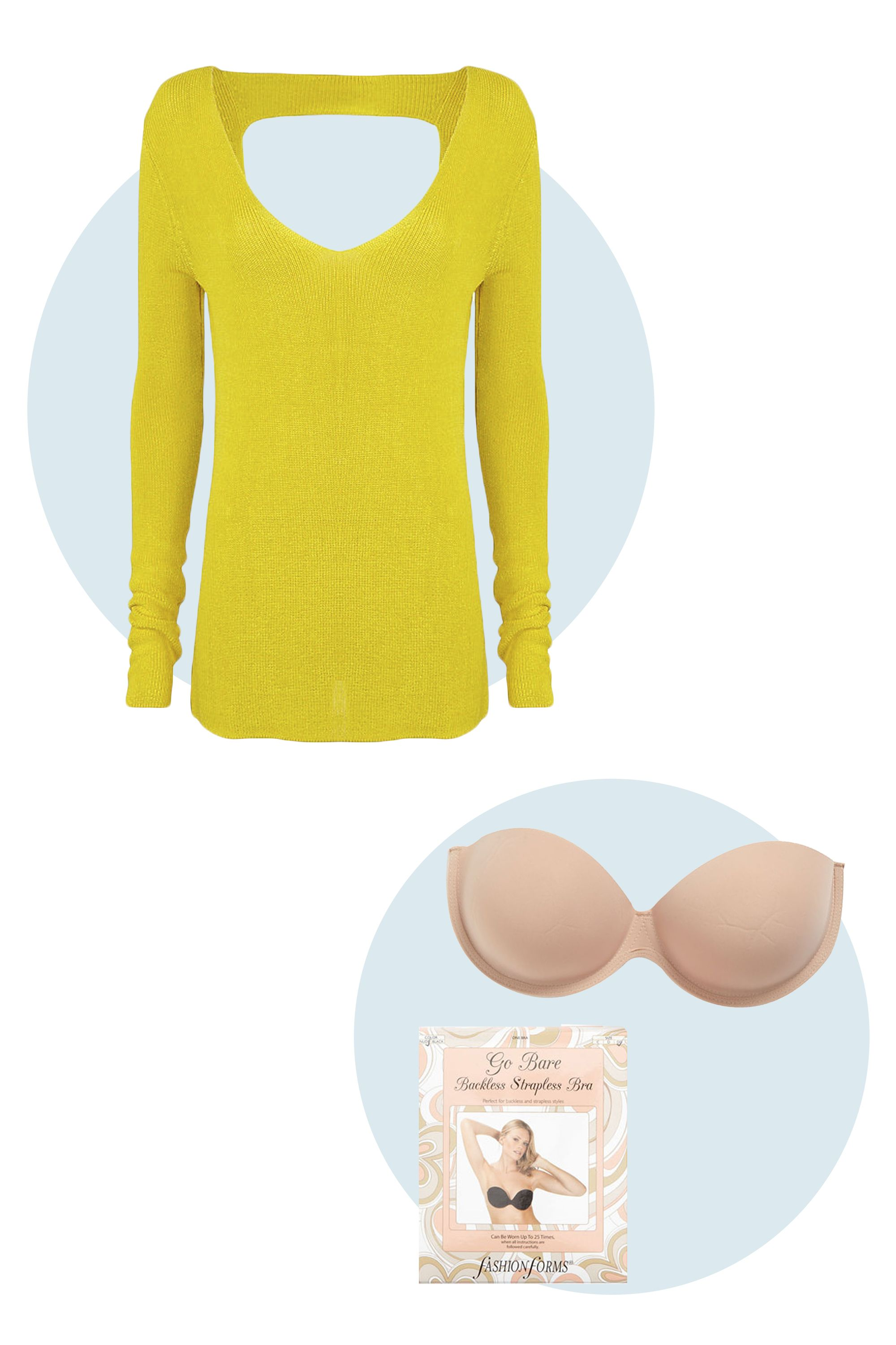 12 Chic Sweaters and the Bras to Wear With Them