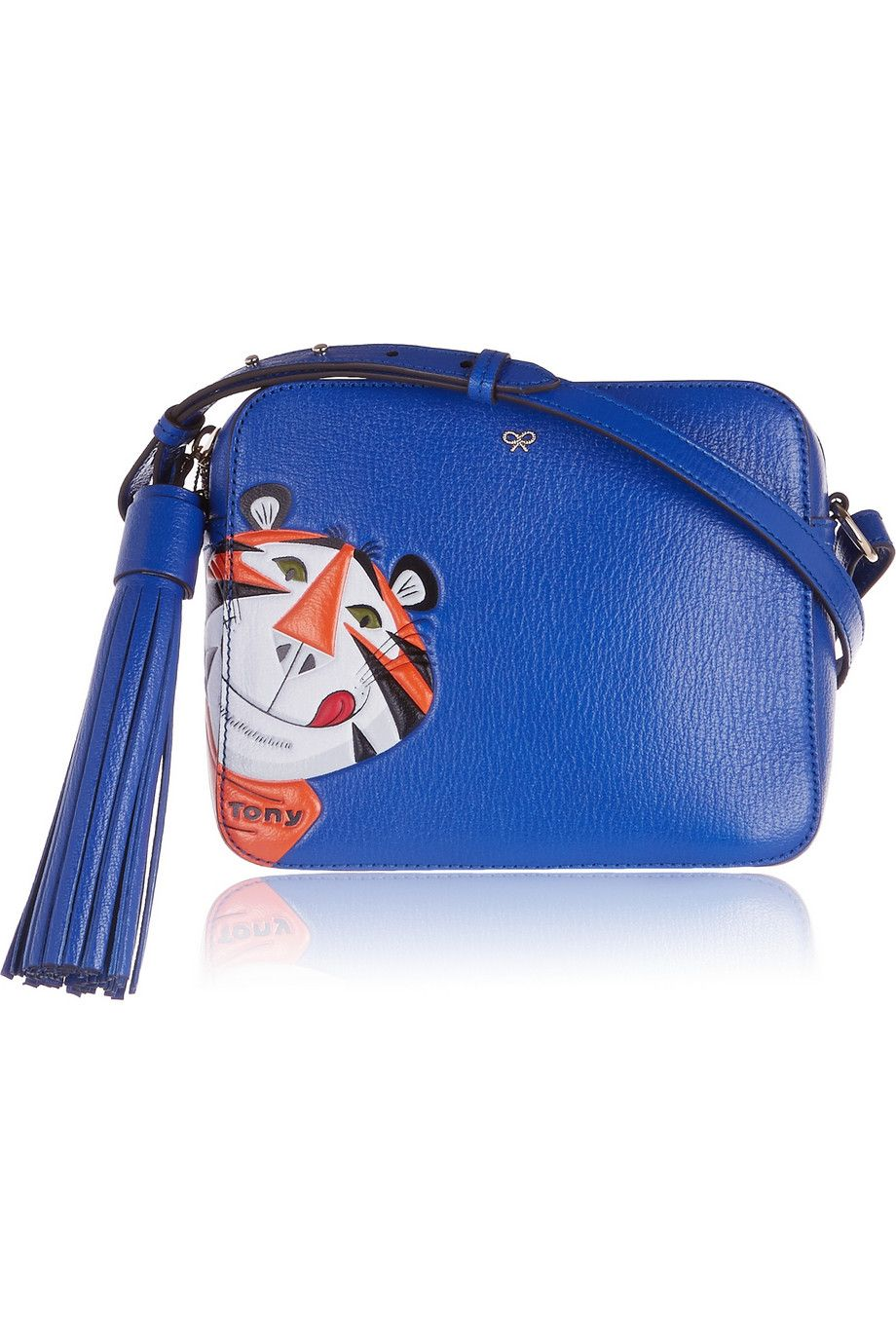 "<p>Anya Hindmarch Frosties Shoulder Bag, $1,195; <a href=""http://www.net-a-porter.com/us/en/product/551578"">net-a-porter.com</a> </p>"