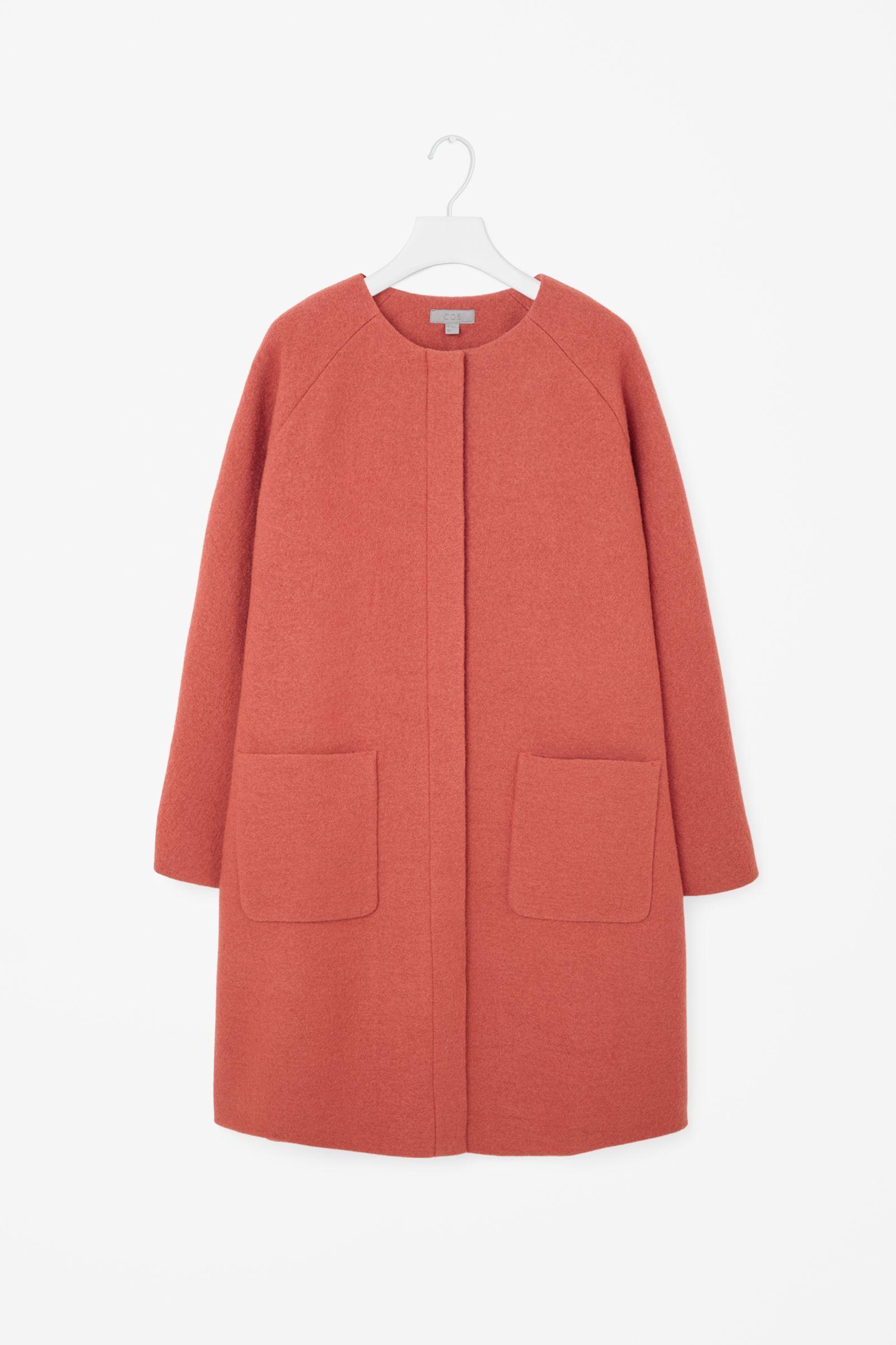 """<p>Cos A-line Wool Coat, $250; <a href=""""http://www.cosstores.com/us/Women/Coats_Jackets/A-line_wool_coat/46891-17789733.1#c-15133319"""">cosstores.com</a> </p>"""