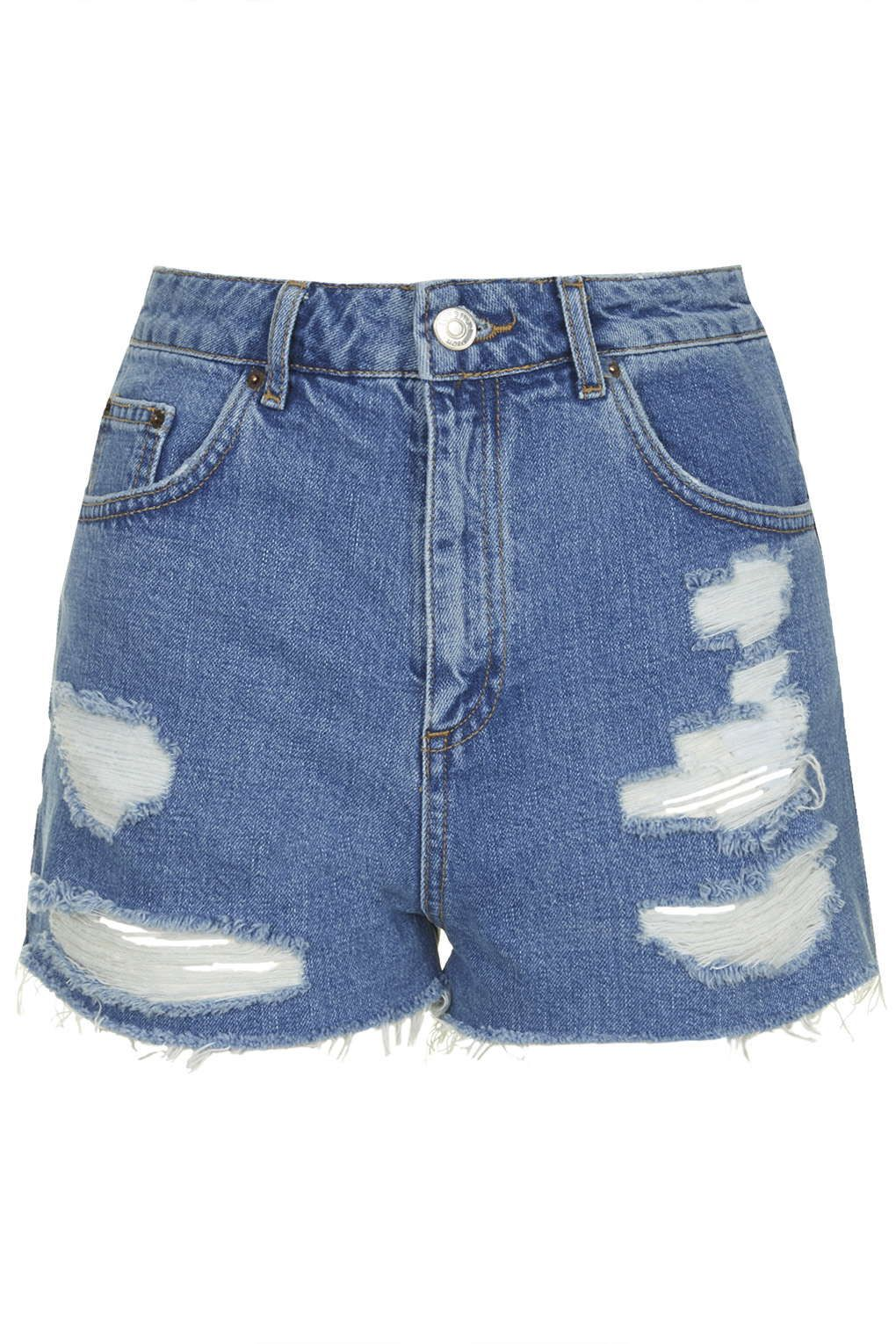 "<p>Topshop MOTO Vintage Ripped Mom Shorts, $58; <a href=""http://us.topshop.com/en/tsus/product/clothing-70483/denim-70972/moto-vintage-ripped-mom-shorts-4487694?bi=0&ps=200"">tosphop.com</a></p>"