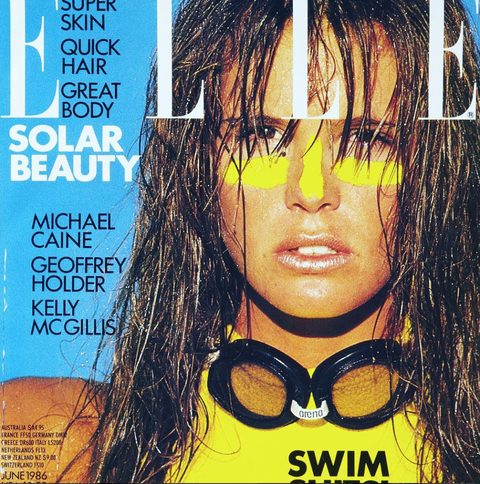 <p>Happy 30th birthday iconic ELLE magazine. @elleusa #tbt #ELLEat30 - Thankyou for making my career so memorable 💛@gilles_bensimon june 1986 !!!</p>