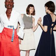 Sleeve, Collar, Dress, Formal wear, Style, Pattern, Bag, One-piece garment, Fashion, Day dress,
