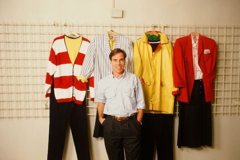 "<p>""I'll never forget what an adrenalin rush it was to show my first menswear collection in New York in 1985. It's hard to believe it was thirty years ago!"" says Tommy Hilfiger.<span></span></p>"