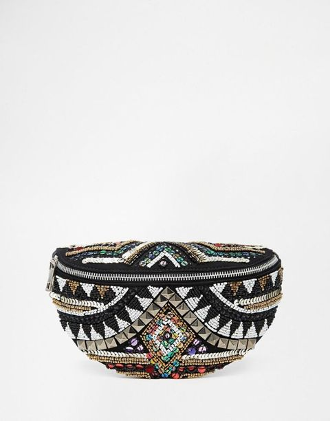 "<p class=""MsoNormal"">ASOS Geo-Tribal Embellished Fanny Pack, $54; <a href=""http://us.asos.com/ASOS-Geo-Tribal-Embellished-Bum-Bag/16e2r1/?iid=5087561&clr=Multi&SearchQuery=fanny+pack&pgesize=19&pge=0&totalstyles=19&gridsize=3&gridrow=5&gridcolumn=2&mporgp=L2Fzb3MvYXNvcy1nZW8tdHJpYmFsLWVtYmVsbGlzaGVkLWZhbm55LXBhY2svcHJvZC8."">asos.com</a></p>"