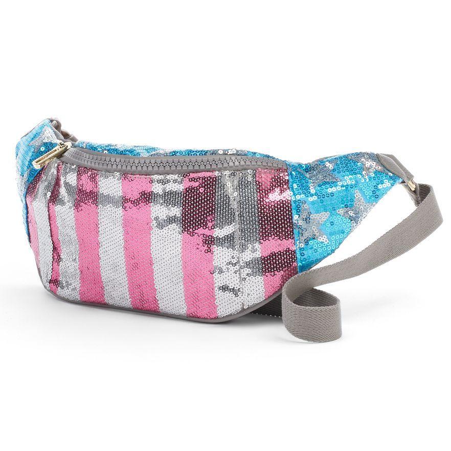 """<p>Juicy Couture American Flag Sequin Fanny Pack, $30&#x3B; <a href=""""http://www.kohls.com/product/prd-2077516/juicy-couture-american-flag-sequin-fanny-pack.jsp?ci_mcc=ci&utm_campaign=CONTEMPORARY%20HB&utm_medium=CSE&utm_source=google&utm_product=98929391&CID=shopping15&ci_src=17588969&ci_sku=98929391&gclid=CNzrpcXK68cCFZcYHwodPzIAhg&gclsrc=aw.ds&dclid=CMzut8XK68cCFdJCNwodc_0FXg"""">kohls.com</a></p>"""