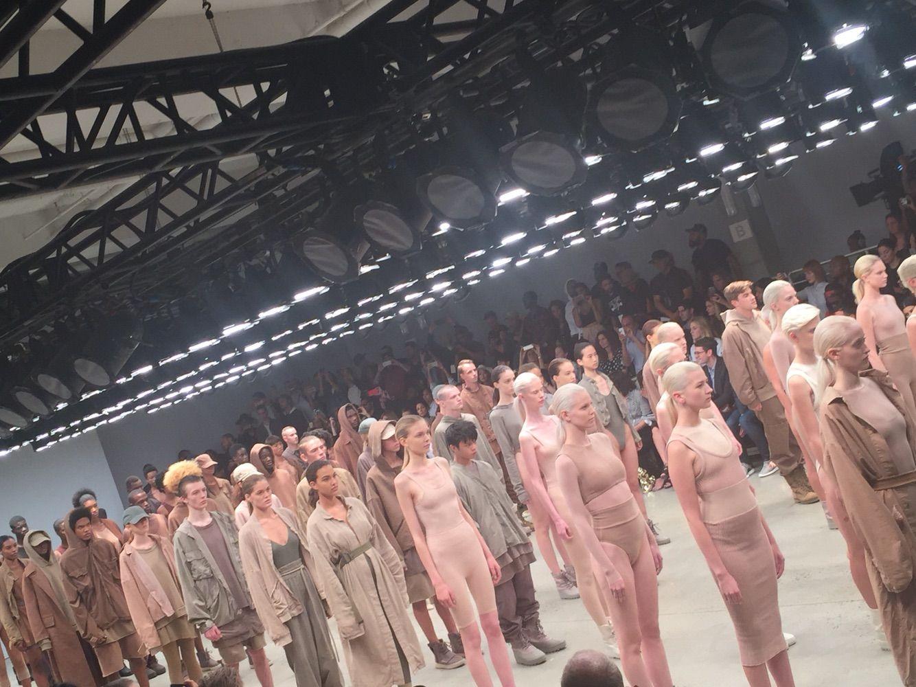 Nude fashion