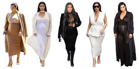 d1fd709268818 Kim Kardashian's pregnancy style has been analyzed, discussed, and  criticized almost as if it were a national sport, but noticeably absent  from the ...