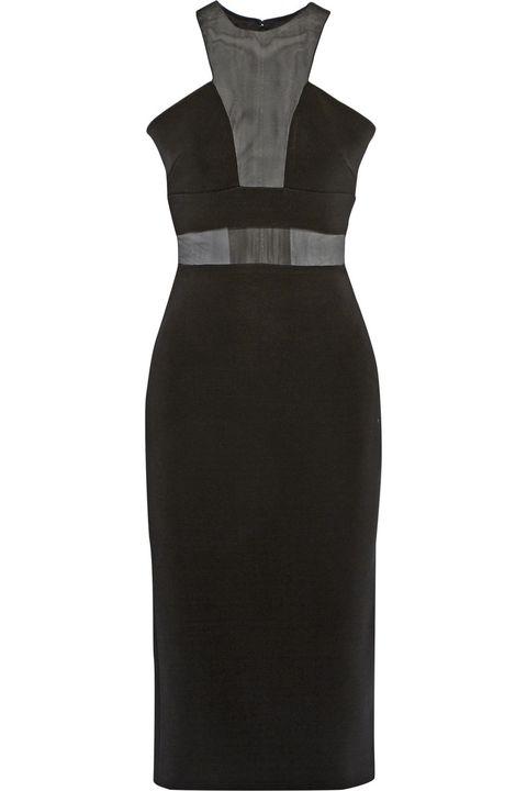 Sleeve, Collar, Formal wear, Style, Black, Costume design, One-piece garment, Pocket, Button, Day dress,
