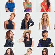 Clothing, People, Sleeve, Shoulder, Facial expression, Style, Pattern, Fashion, Youth, Beauty,