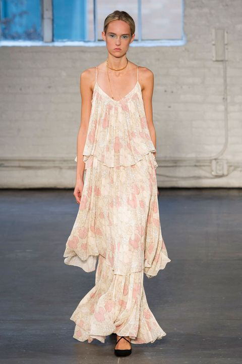 Blue, Shoulder, Shoe, Dress, Textile, Joint, One-piece garment, Style, Formal wear, Sandal,