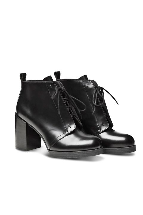 """<p>Cheap Monday Layer Boot Hide, £120; <a href=""""http://www.cheapmonday.com/shop-women/shoes/layer-boot-hide/4978378-7086324.1?image=5012671#7086326"""">cheapmonday.com</a></p>"""
