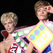 Hairstyle, Eye, Fashion, Youth, Eyelash, Blond, Bangs, Makeover, Fashion design, Hair coloring,