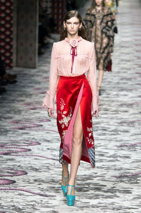 5b8f7f09bfd Gucci Spring 2016 Ready-to-Wear Collection