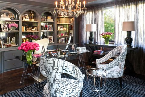 Glorious Redesigned Los Angeles Mansion, Kris Jenner Bedroom Furniture