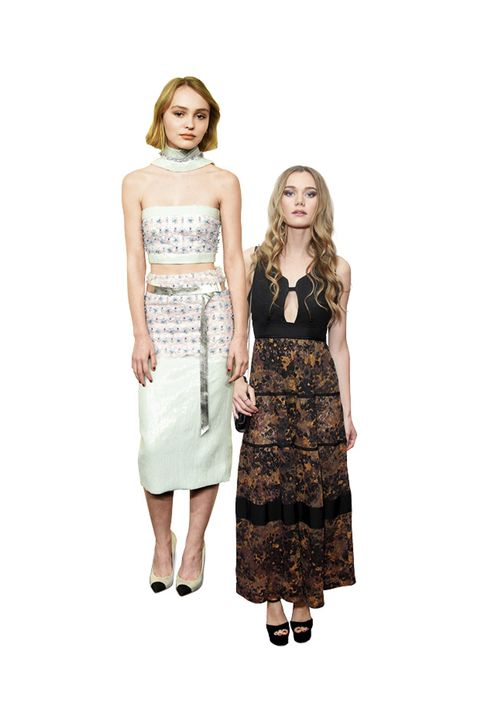 "<p>With the combined genetics of Johnny Depp and Vanessa Paradis, how could Lily-Rose Depp be anything other than broodingly chic? After a front-row appearance at Chanel couture, the 16-year-old actress announced her role as the newest face for the French house (following in Mom's footsteps). Meanwhile, 21-year-old Imogen ""Immy"" Waterhouse has been coordinating outfits with big sis and Burberry face Suki Waterhouse of late and looking every bit the English rose.</p>"