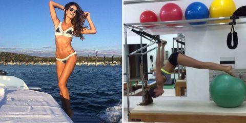 13 Fitness Moves That Give Victoria's Secret Model Izabel Goulart Her Insane Body