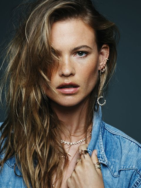 """<p>""""We just had a great day together. I <i>loved  </i>seeing all the new pieces up close,"""" Prinsloo told ELLE.com. """"There were times when I would forget we were working and would just try everything on and play.""""</p>"""