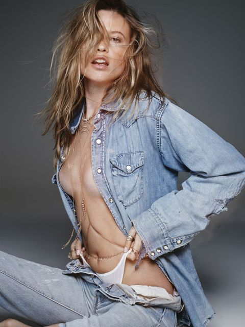"""<p>""""The shoot was great. Everyone that day was so amazing and chill, we had a great time. I love how organic everything felt,"""" Prinsloo says about the shoot. """"The process was very effortless. Jacquie really knows what she wants and has an amazing hands-on vibe.""""</p>"""
